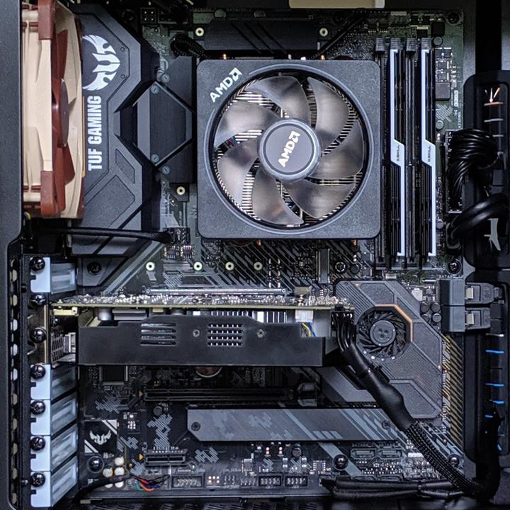 ASUS AM4 TUF Gaming X570 Motherboard and Ryzen 3700X