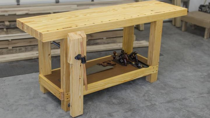 A Roubo workbench.