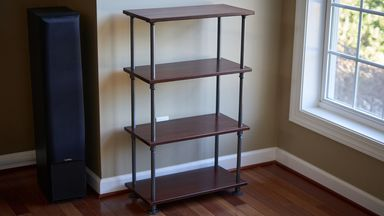 Build Industrial-Style Shelves