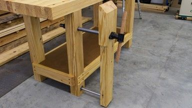 Build a Workbench Leg Vise